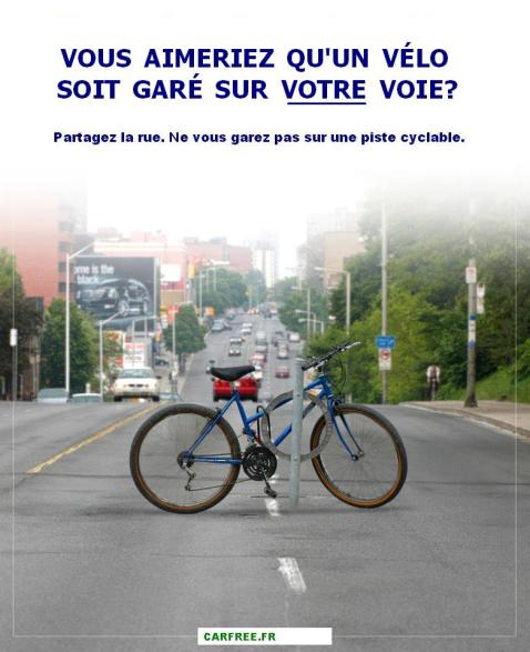 Carfree-vélo-garé