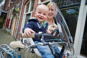 Vélo femme - Porte enfant