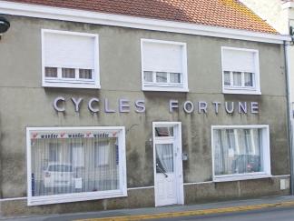 Clin d'oeil: il y a eu ici un passé de vélo!