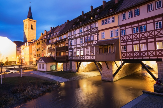 Des ponts a vivre - Pont des epiciers - Erfurt